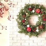 要出典 クリスマスリース 姫リンゴのフォレストリース