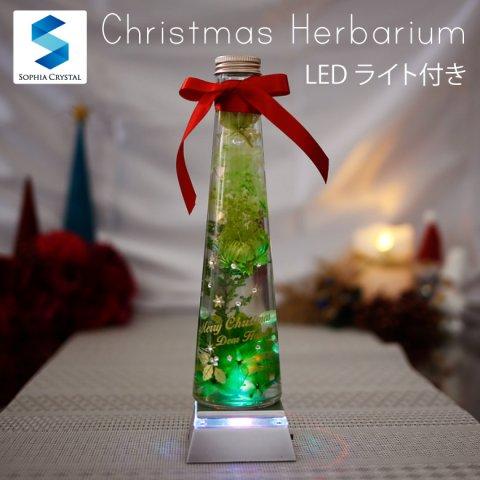 要出典 クリスマスツリー ハーバリウム LED