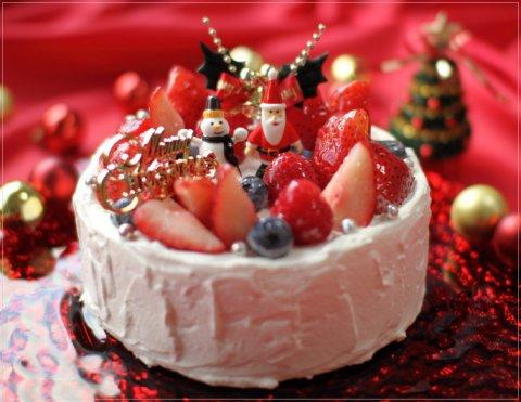 要出典 カトルフィユ クリスマスケーキ 5号サイズ