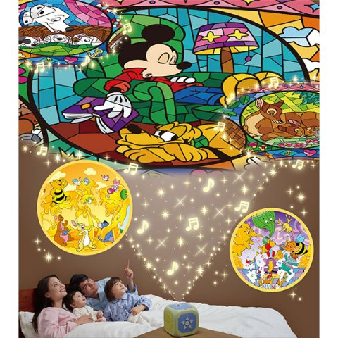 要出典 クリスマスプレゼント 2歳 3歳 男の子 タカラトミー ディズニーキャラクター 天井いっぱい ! おやすみホームシアター ぐっすりメロディ♪