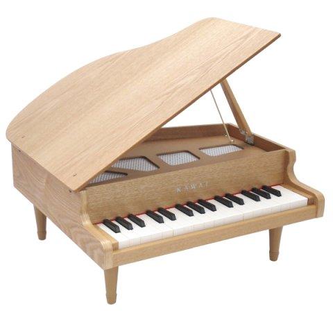 要出典 子供が喜ぶクリスマスプレゼント KAWAI(カワイ)グランドピアノ ナチュラル