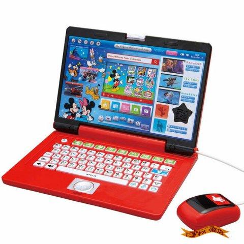 要出典 子供が喜ぶクリスマスプレゼント ディズニー&ディズニー / ピクサーキャラクターズ ワンダフルドリームパソコン