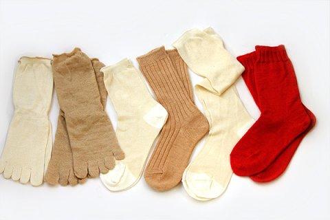 要出典 神戸セレクション認定 冷えとり靴下 重ね履き6足セット
