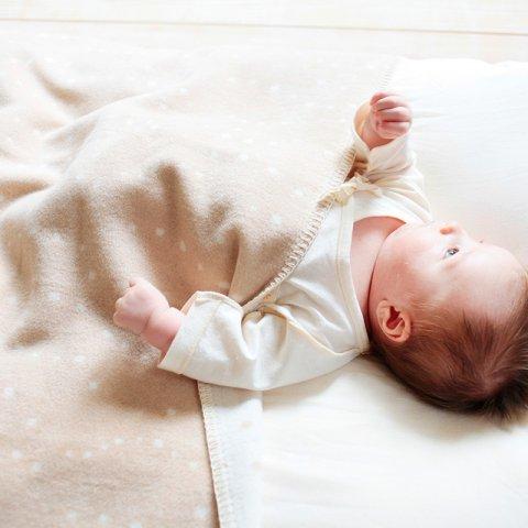 要出典 ベビー毛布 メイド・イン・アース オーガニックコットン綿毛布