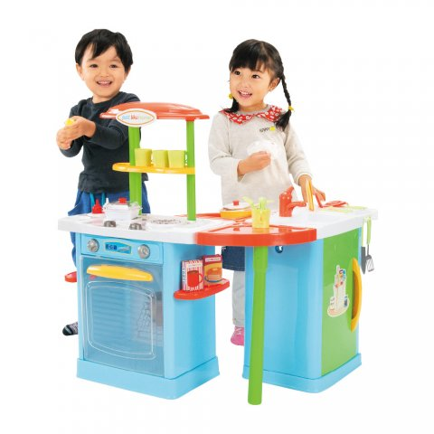 要出典 3歳 女の子 誕生日プレゼント トイザらス ジャストライクホーム 5WAYひかりとおとのシステムキッチン!