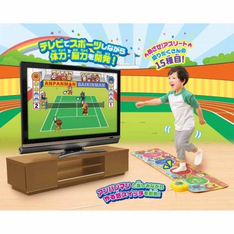 要出典 3歳の男の子への誕生日プレゼント あそんで体力・集中力UP!アンパンマンスポーツ育脳マット