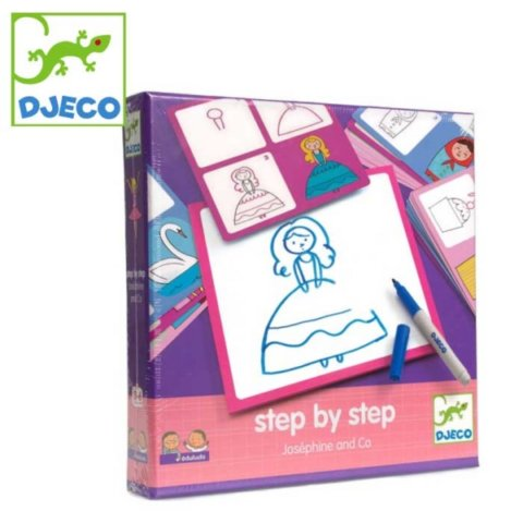 要出典 4歳 女の子 誕生日 プレゼント ジェコ 知育玩具 ステップバイステップ ジョセフィーヌ