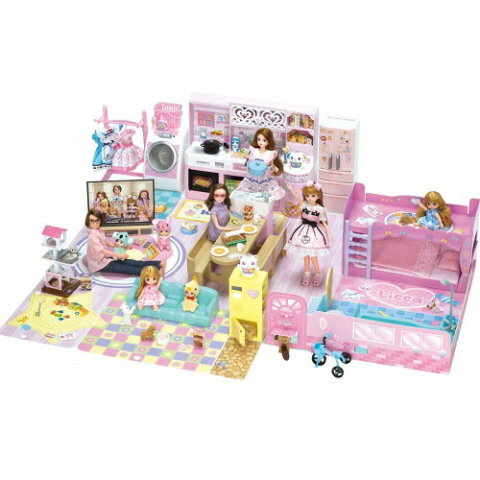 要出典 4歳 女の子 誕生日 プレゼント タカラトミー リカちゃん チャイムでピンポーン かぞくでゆったりさん