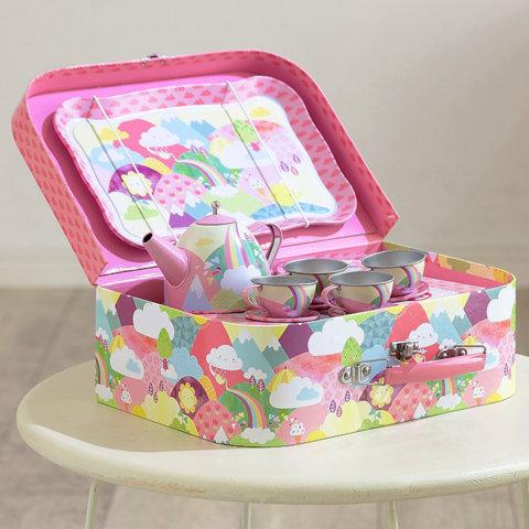 要出典 4歳 女の子 誕生日 プレゼント タイガートライブ ヴィンテージティーセット カラフルワンダーランド