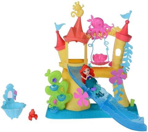 要出典 4歳 女の子 誕生日プレゼント タカラトミー ディズニープリンセス リトルキングダム アリエルの海のお城
