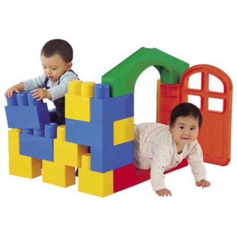 要出典 1歳 男の子 誕生日 プレゼント ピープル 全身でブロック 入って遊べるセット