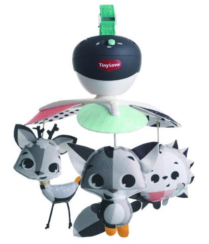 要出典 チャイルドシートのおもちゃ タイニーラブ マジカルテールズ ブラック&ホワイト テイクアロングモービル