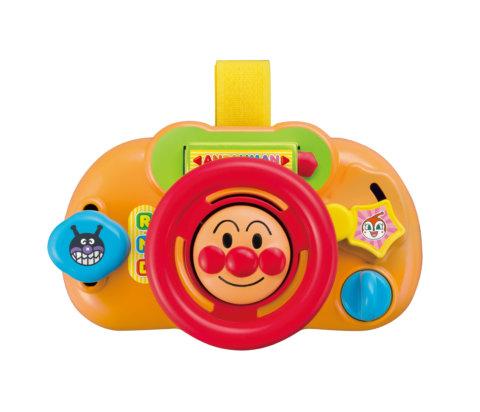 要出典 チャイルドシートおもちゃ アガツマ アンパンマン おでかけどこでもハンドルミニ