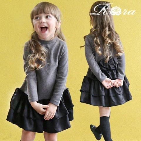 要出典 入園式 女の子 服装 Rora ドレシア ワンピース