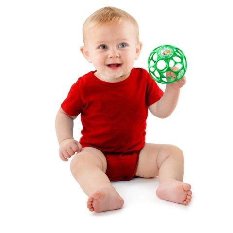 要出典 0歳 知育 おもちゃ オーボール ラトル 2