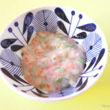 インゲンと白身魚のミルク煮 中期前半 離乳食(アイキャッチ)