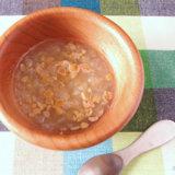 白菜と納豆のスープ 中期後半 離乳食(アイキャッチ)