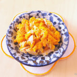 ツナとかぼちゃのサラダ 中期後半 離乳食(アイキャッチ)