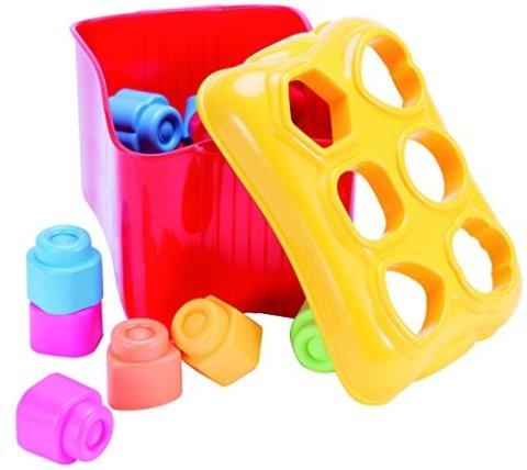要出典 赤ちゃんが喜ぶおもちゃ ベビークレミー 赤ちゃんにやさしいはじめての知育ブロック パズルセット