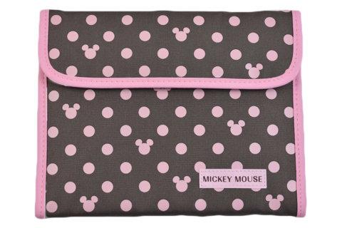 要出典 母子手帳ケース ディズニー ジャバラ式母子手帳ケース ミッキーアイコン