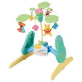要出典 赤ちゃん おもちゃ タカラトミー くまのプーさんえらべる回転6WAYジムにへんしんメリー