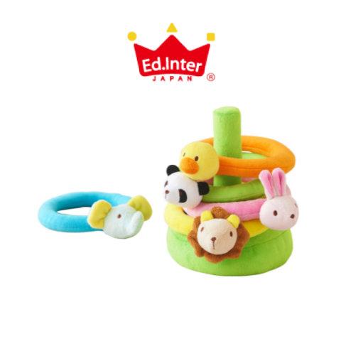 要出典 赤ちゃんが喜ぶおもちゃ エド・インター ふわふわなげっこ