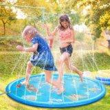 要出典 水遊び おもちゃ 噴水マット 子供用