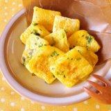 豆乳と小松菜のフレンチトースト 離乳食 後期 鉄分 アイキャッチ