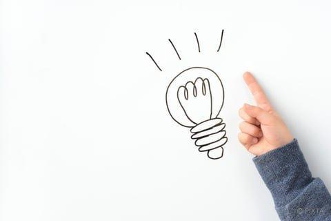 アイデア 電球