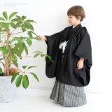 要出典 七五三 3歳 男の子 京越 羽織袴セット 七五三用