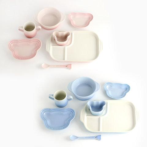 要出典 離乳食 食器 ルクルーゼ 食器セット ベビー・テーブルウェア・セット