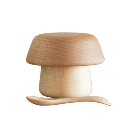 要出典 離乳食 食器 スナオラボ 木の器 きのこのうつわ 3点セット