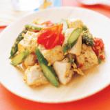 miku転載 幼児食 豆腐のチャンプルー(アイキャッチ)
