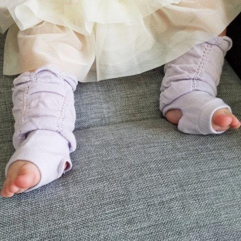 要出典 赤ちゃん用レッグウォーマー クフウ 柔らかくしゅくしゅトレンカ