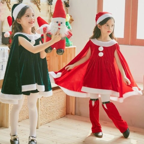 要出典 クリスマス衣装 クリスマス コスチューム ワンピース