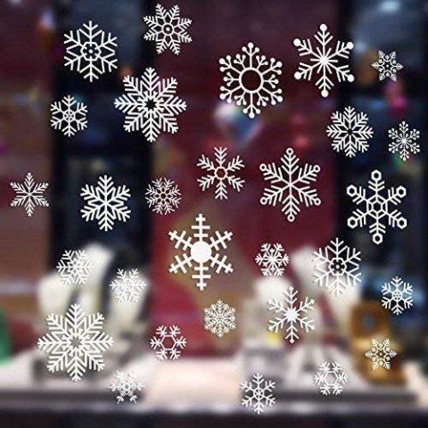 要出典 クリスマスステッカー クリスマス 静電ステッカー