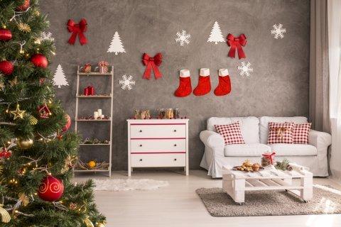 クリスマス インテリア 部屋
