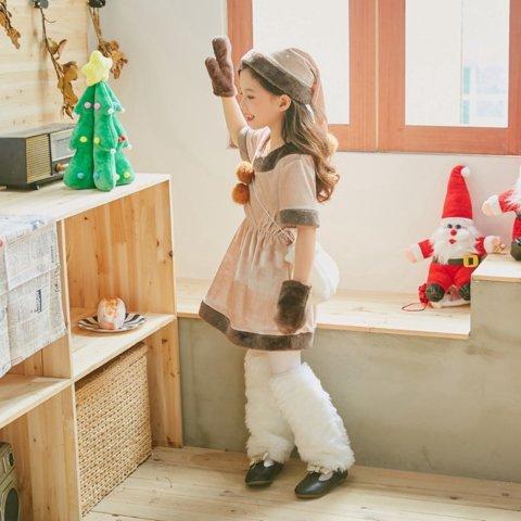 要出典 クリスマス衣装 JUVIA クリスマス トナカイ コスチューム