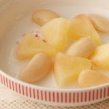幼児食 書籍転載 白花豆とりんご煮
