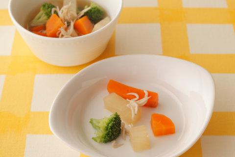 幼児食 書籍転載 野菜のシラス煮