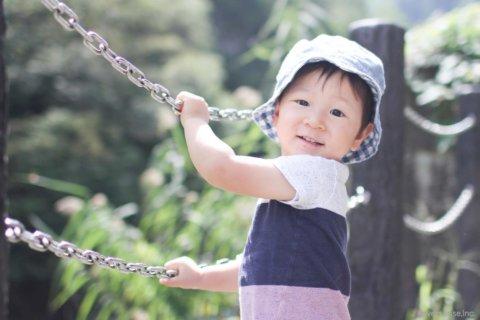 2歳 男の子 外遊び