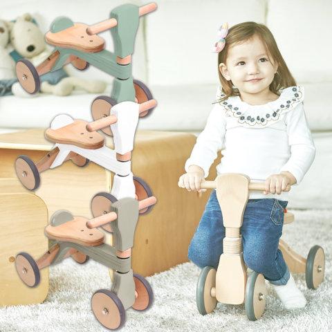 要出典 0歳 1歳クリスマスプレゼント ファーストウッディバイク