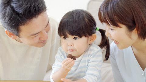 2歳 3歳 食事 家族 親子