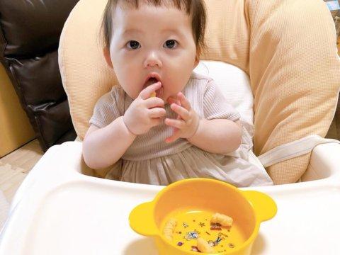 baby体験 8m_rinyusyoku t__baby__wさん