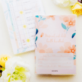 母子手帳カバー(和号なし)ボタニカル柄