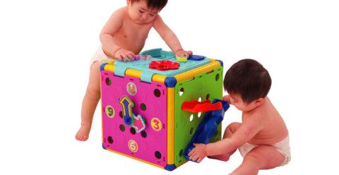 要出典 0歳 1歳 知育玩具 ピープル 頭と体の知育ボックス