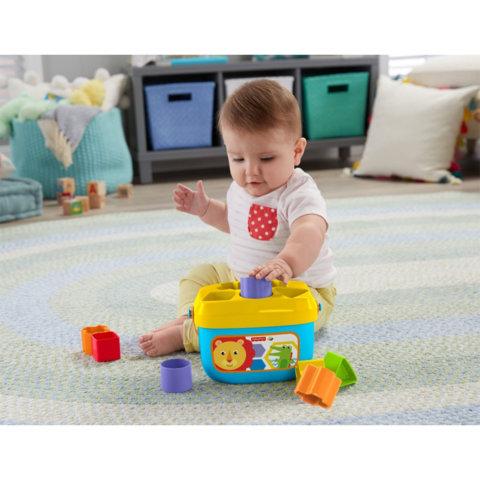 要出典 0歳1歳 知育玩具 フィッシャープライス はじめてのブロック レインフォレスト