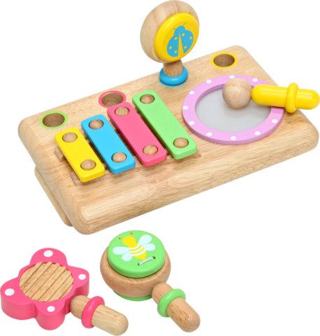 要出典 0歳 1歳 知育玩具 エデュテ ファーストミュージックセット