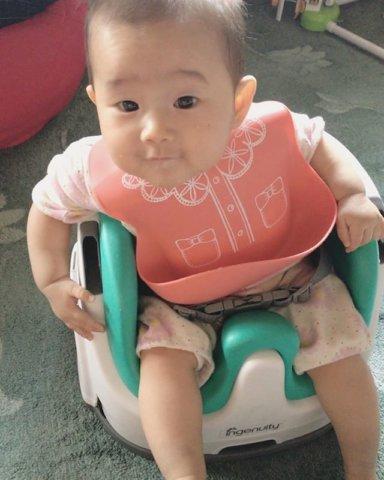 baby体験 6m_rinyusyoku miko_0610さん