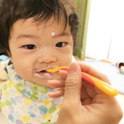 baby体験 7m_rinyusyoku mari_hr_mamaさん